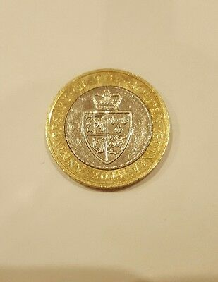 2 pound coin - anniversary of the golden Guinea - circulated