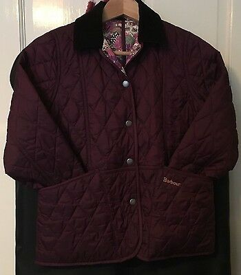Girls Barbour Quilted Jacket Age 10-11