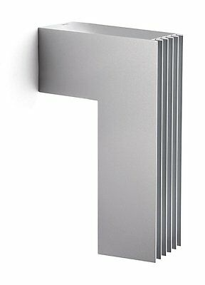 Philips Ecomoods Outdoor Energy-Saving Wall Light - Silver Effect - 16904/87/16