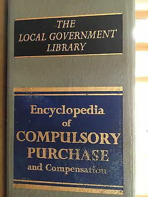 Encyclopaedia Of Compulsory Purchase And Compensation