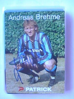 Autogramm Andreas Brehme (Inter Mailand) 314