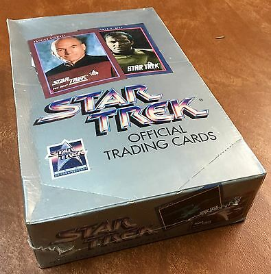 Vtg 1991 Star Trek Official Trading Cards Box Impel 25th Anniversary Sealed Pack