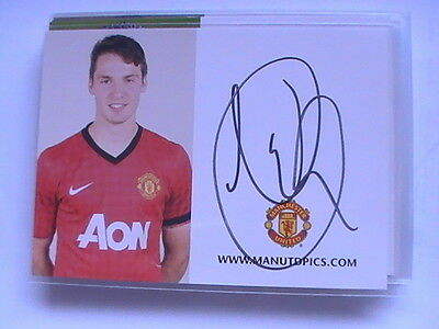 Autogramm Nick Powell (Manchester United) 684