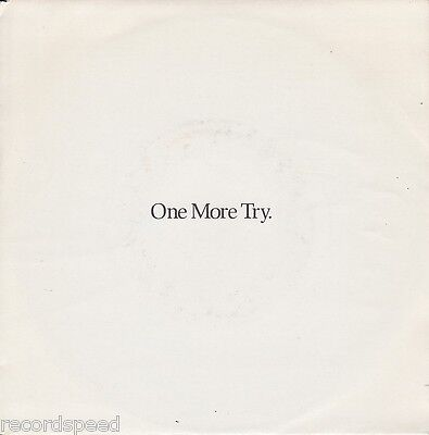 """★★ 7"""" - GEORGE MICHAEL - One More Try - Look At Your Hands"""