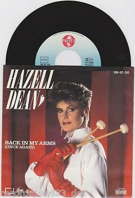 """★★ 7"""" - HAZELL DEAN - Back In My Arms"""