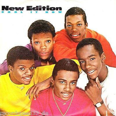 """★★ 7"""" - NEW EDITION - Cool It Now"""