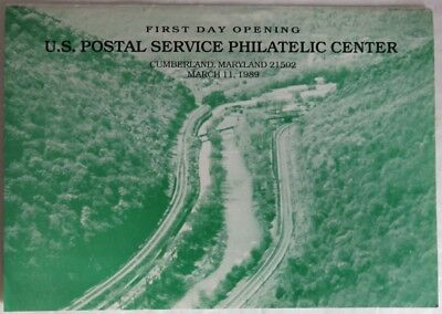 1989 First Day Opening Maryland Philatelic Center Stamp          (Inv12793)