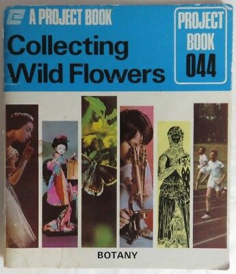 1973 Woolworth And Woolco Collecting Wild Flowers Booklet          (Inv12813)