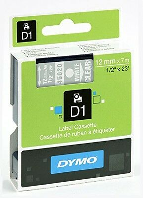 Dymo S0720680 D1 Labels For LabelManager Printers, Self-Adhesive, 12 mm x 7 m -
