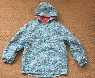 Girls Waterproof Jacket Age 7-8