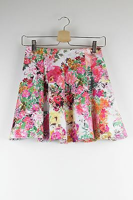 New Look floral summer skater skirt Size 12-13 yrs