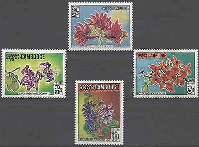 Timbres Flore Cambodge 264/7 ** lot 1