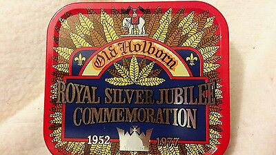 Old Holborn Royal Silver Jubilee Commemoration tin