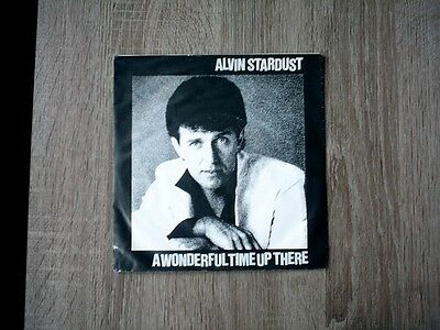 """7"""" Single: ALVIN STARDUST:  A Wonderful Time up there"""