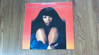 Donna Summer The Greatest Hits vinyl lp