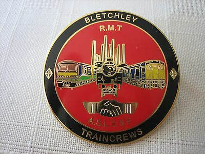 Aslef/rmt/railway Badge