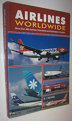 Airlines Worldwide 2003 4th Edition Aviation Book - B I Hengi 360 Airline Fleets