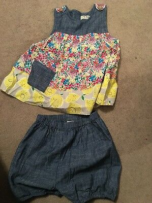 Shorts & Top Set From Next - Girls Age 5-6