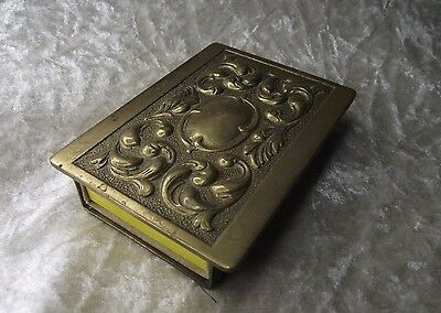 Stylish Brass Art Nouveau Swan Vesta matchbox Holder