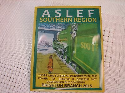 Aslef/railway Badge