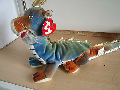 Ty Toys Beanie Babies Zodiac the Dragon in very good condition with tag