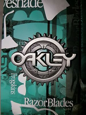 Oakley Frogskin RazorBlades Heritage 30 Year Anniversary Collectable Pin & Card