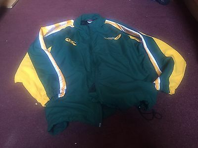 Canterbury Mens Large Australia Rugby Jacket