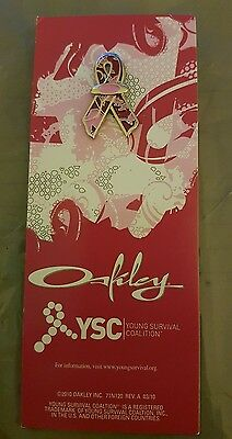 Oakley YSC Young Survival Coalition Collectable Pin & Card 03/10