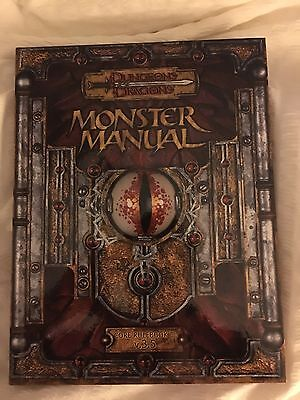 Monster Manual Dungeons and Dragons 3.5 DnD