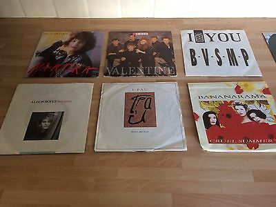 Selection Of 42 Vinyl singles records