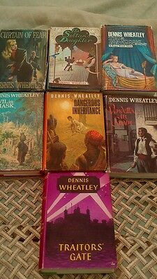 DENNIS WHEATLEY COLLECTION VINTAGE BOOKS 1950s - BOOK CLUB