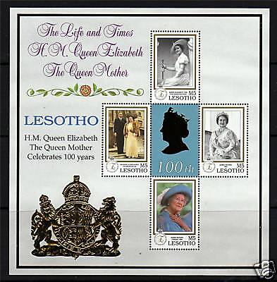Lesotho 1999 Queen Mothers 100th B/day SG1644/7 MNH