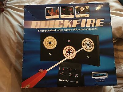 Quickfire Vintage Retro Computerised Target Game By Electroplay 1979
