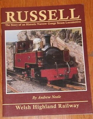 Russel The Welsh Highland Narrow Gauge Steam Railway Book Author Andrew  Neale