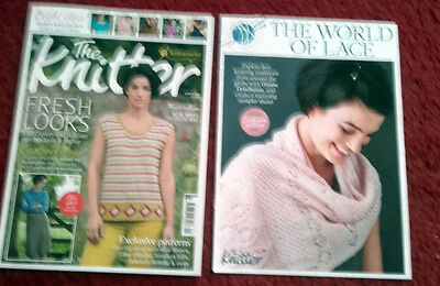 the knitter magazine issue 101 with free shawl pattern