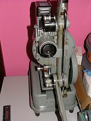 DEBRIE D16 16mm OPTICAL SOUND PROJECTOR IN FULL WORKING ORDER Rebuilt amplifier