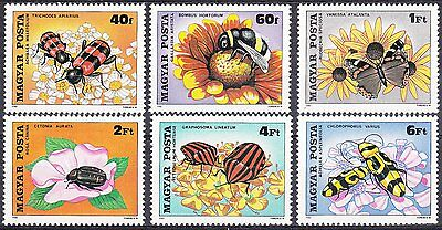 Hungary 1980 Insects & Butterflies NHM