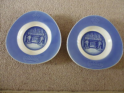 2, Royal Copenhagen Pin Dishes / Ashtrays