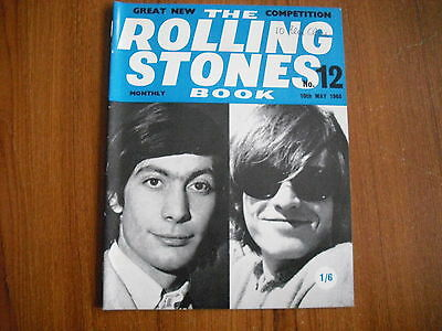 THE ROLLING STONES MONTHLY BOOK - No. 12 - MAY 1965 - ORIGINAL