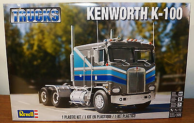 Revell Monogram Kenworth K-100 Cab and Chassis model kit 1/25