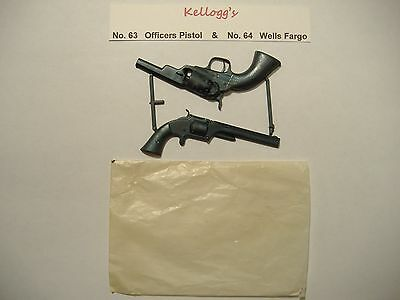 KELLOGG's FROSTIES FAMOUS FRONTIER RIFLES TOY 1958