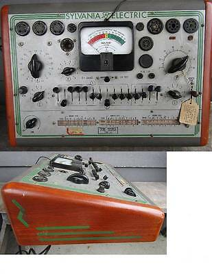 Sylvania Electric Model 219 Multi-Function Tube Tester