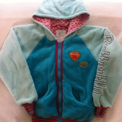 Girls Me Too Butterfly Fleece jacket Age 10 140cm
