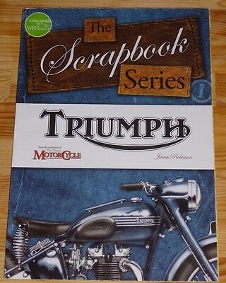 Triumph Motorcycles Book - The Scrapbook Series