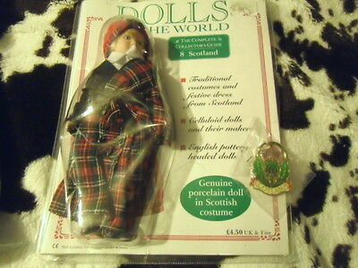 Dolls of the world collectors magazine and doll issue 8 Scotland FREE KeyRing