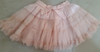 NEXT Girls Pink Tutu Skirt GOOD CONDITION Age 2-3 years