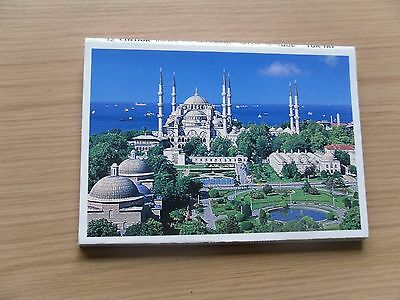Istanbul Postcards 12 colour views of Istanbul 'Blue Mosque'
