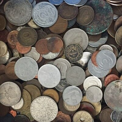 1,5 kg Kilo of Mix European And World Coins