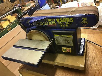 Record Power Belt And Disc Sander