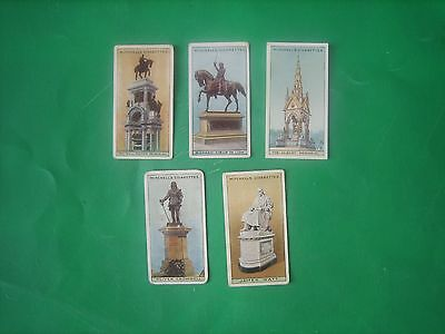 Cigarette Cards  Mitchell  Statues & Monuments  5No